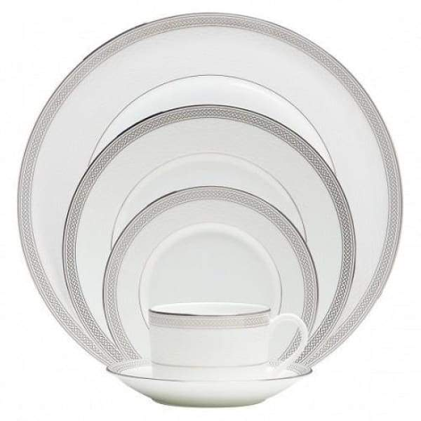 Olann Platinum 5 Piece Place Setting - Boutique Marie Dumas