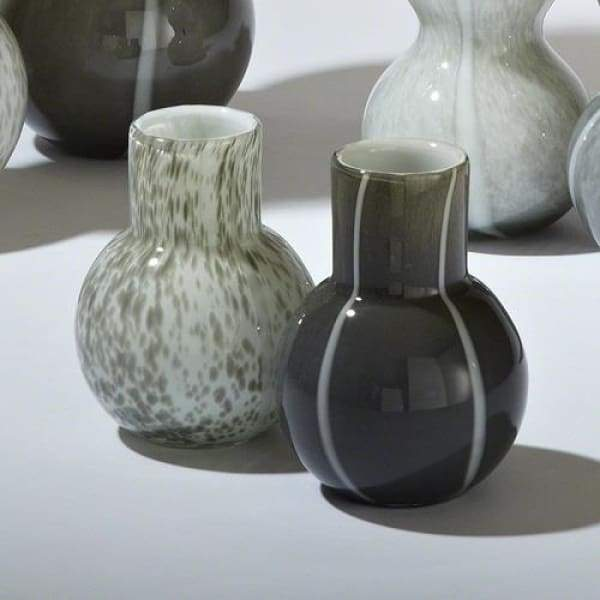 One Bubble Vase - Light Grey - Boutique Marie Dumas