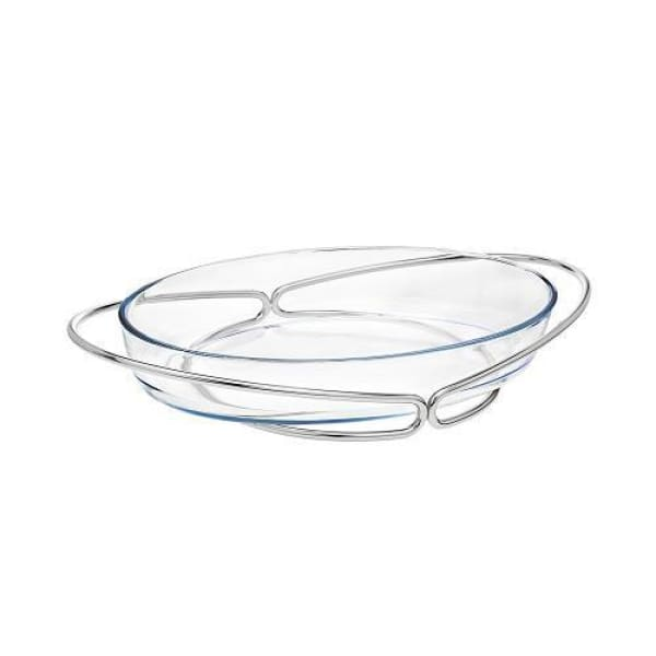 Oval Glass Baking Dish - Boutique Marie Dumas