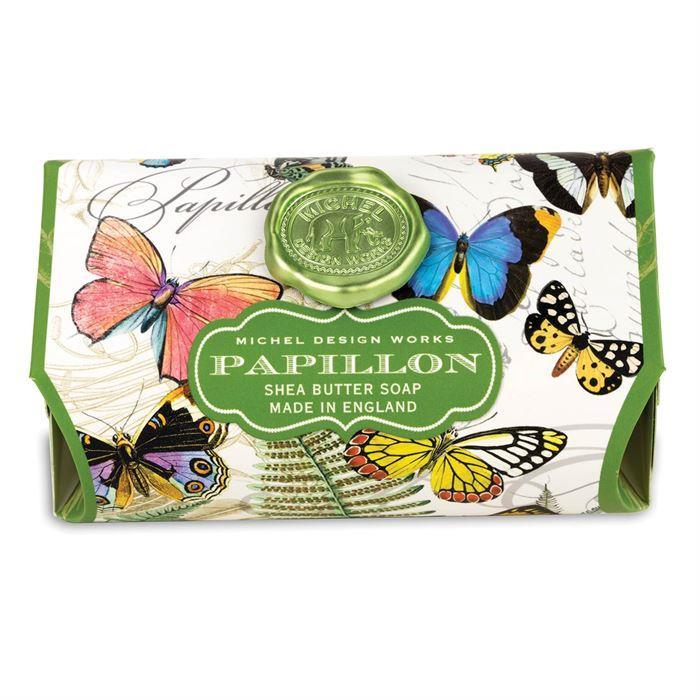 Papillon Large Bath Soap Bar - Boutique Marie Dumas