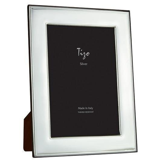 Plain Smooth Silver 5x7 Frame - Boutique Marie Dumas