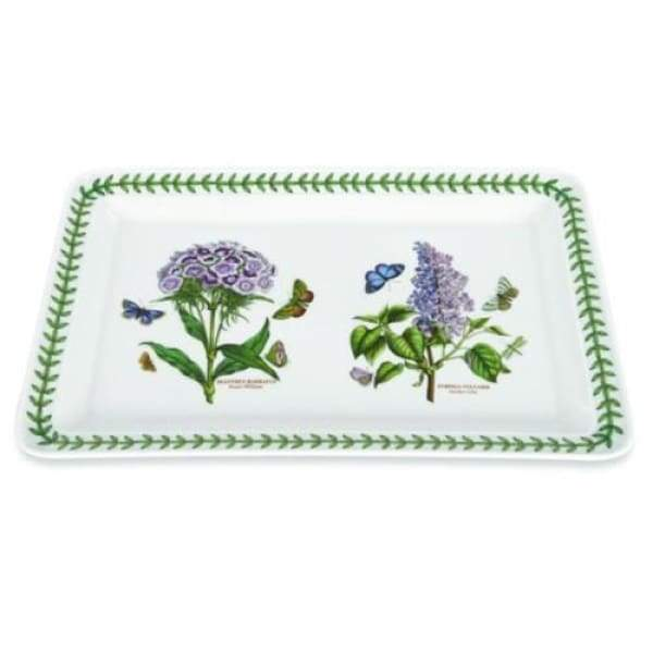Portmeirion Botanic Garden Rectangular Tray - Boutique Marie Dumas