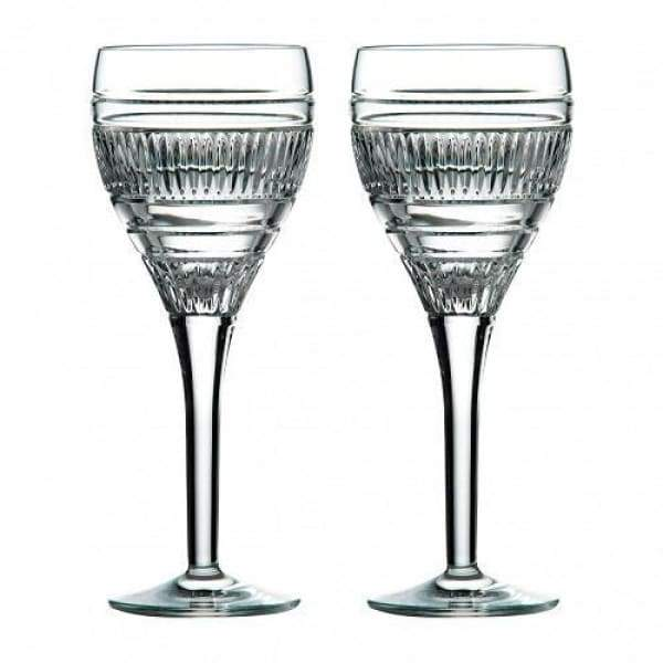 Radial Wine Glasses, S/2 - Boutique Marie Dumas