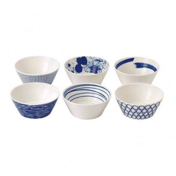 Royal Doulton Pacific Set of 6 Tapas Bowls - Boutique Marie Dumas