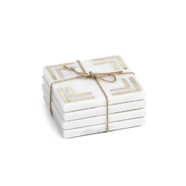 Marmo Marble Coasters - Set of 4