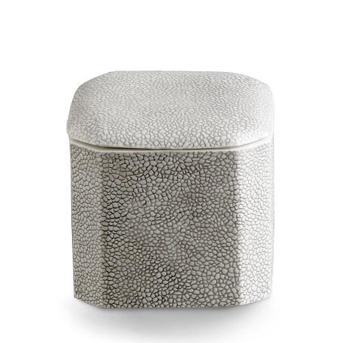 Shagreen- Cotton Jar