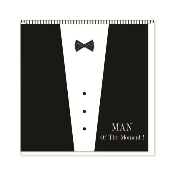 Man of the Moment Birthday Card