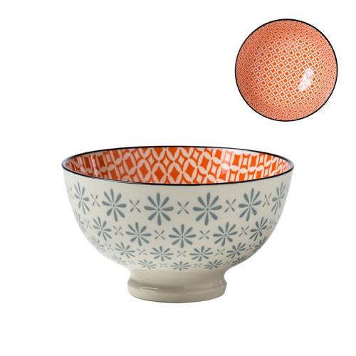 Kiri Porcelain Medium Bowl Gerbera Diamond