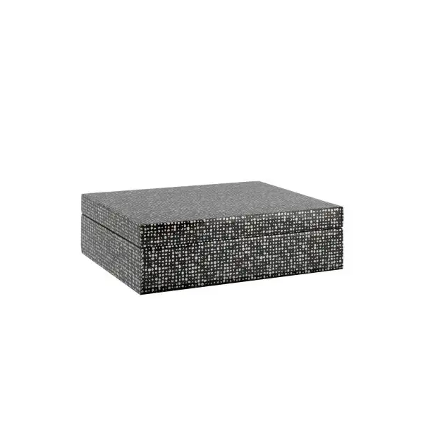 Dotted Lacquered Box - Small