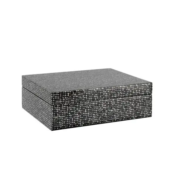 Dotted Lacquered Box - Large