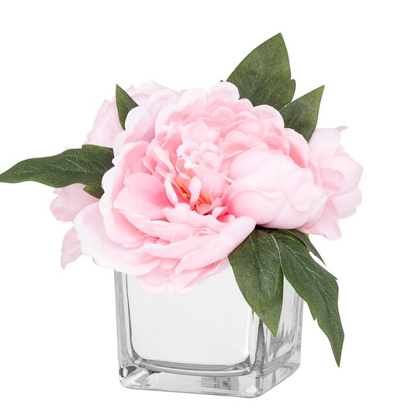 Peony Floral Arrangement - Light Pink