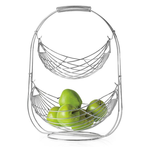 2-Tier Wired Fruit Bowl
