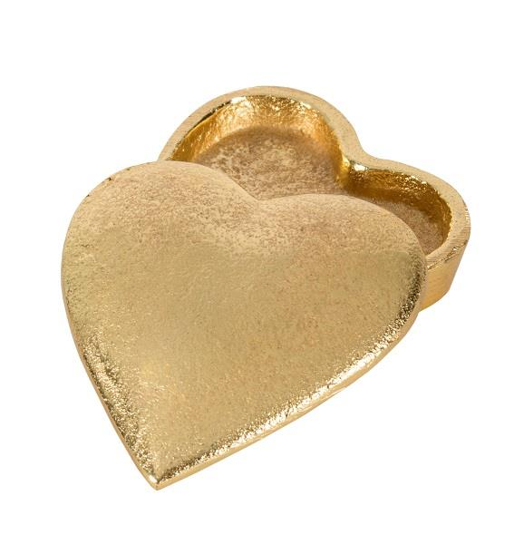 Brass Heart Box