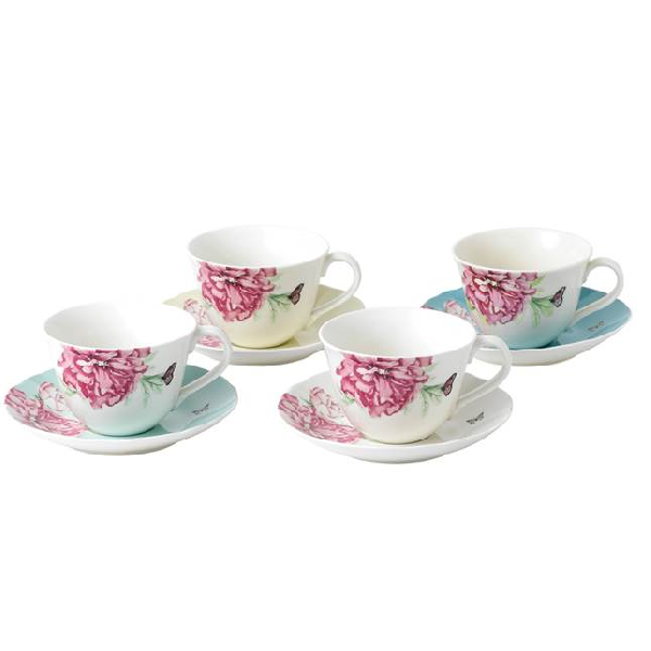 Everyday Friendship Tea Cup & Saucer 8pc