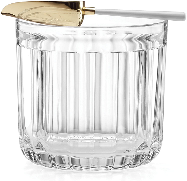 Kate Spade Park Circle Ice Bucket w/Scoop