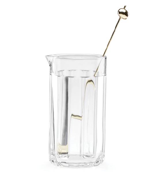 Kate Spade Park Circle Cocktail Carafe with Stirr