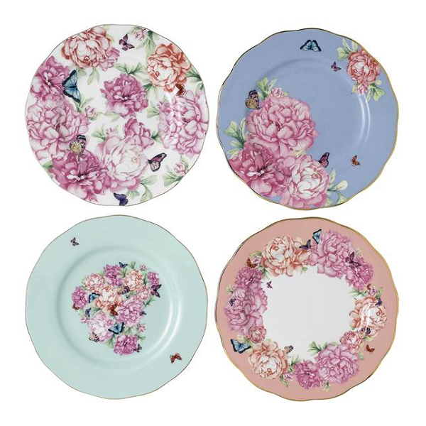 Miranda Kerr Friendship Plates - Set of 4