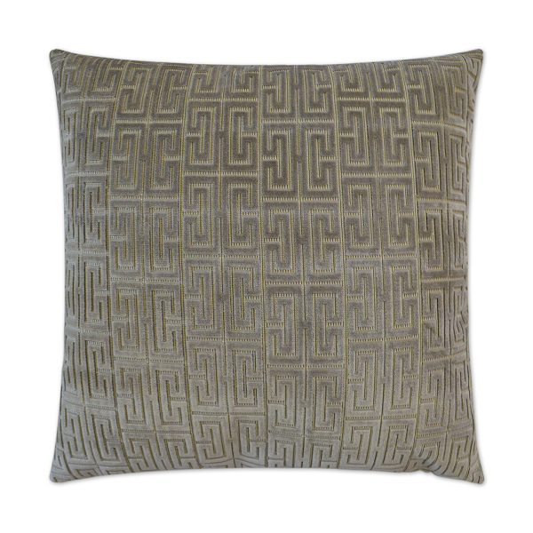 Dazzling Pillow in Silver