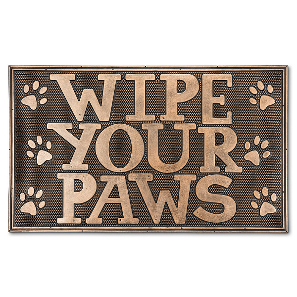Wipe Your Paws Doormat