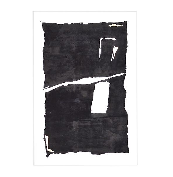 Small Abstract in Black I
