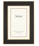 Siena Shagreen Black 5x7 Gold Frame - Boutique Marie Dumas
