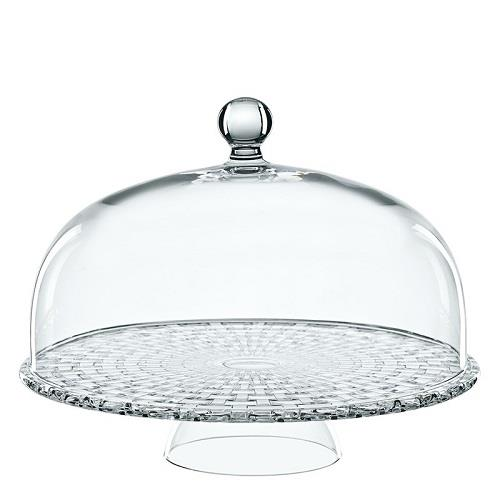Nachtmann Bossa Nova Footed Cake Stand w/ Dome