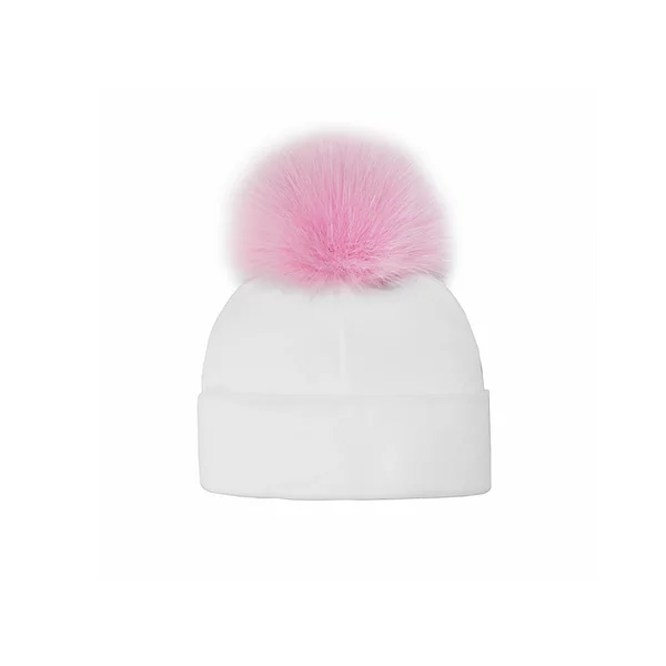 Cotton Baby Hat - Pink