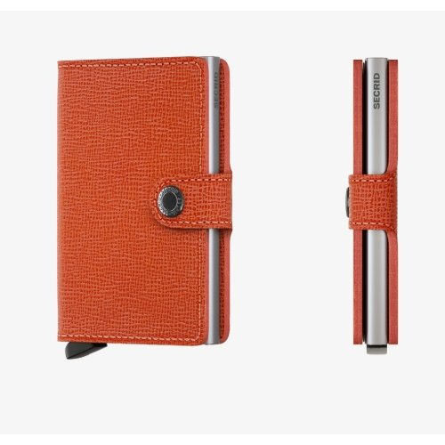 Secrid Miniwallet Crisple Orange - Boutique Marie Dumas