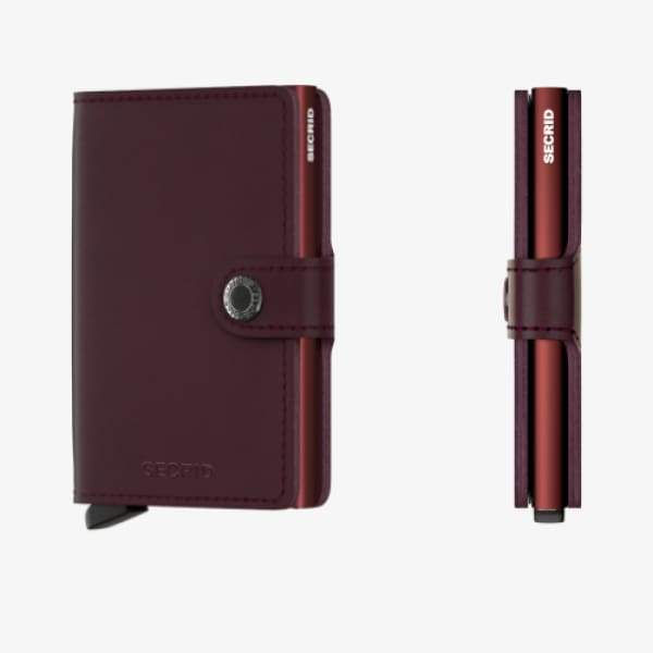 Secrid Miniwallet Original Bordeaux - Boutique Marie Dumas