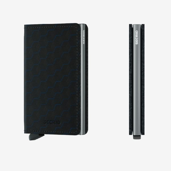 Secrid Slimwallet Optical Black-Titanium - Boutique Marie Dumas