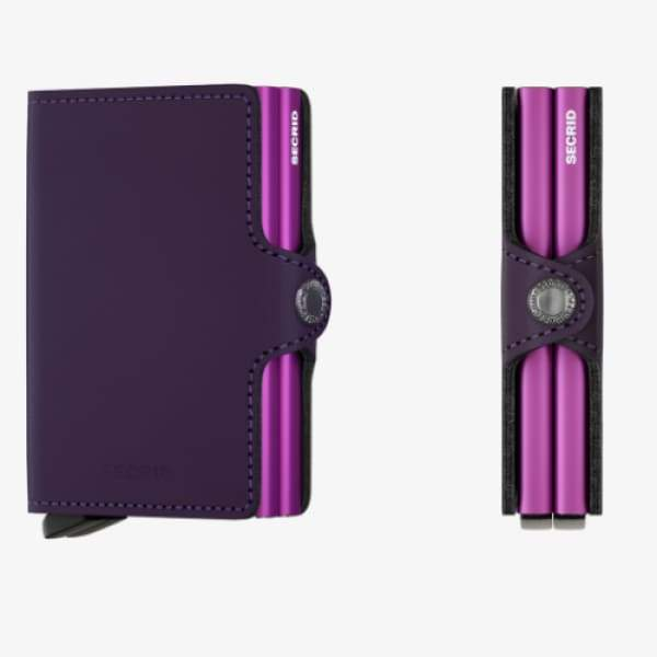 Secrid Twinwallet Matte Purple - Boutique Marie Dumas
