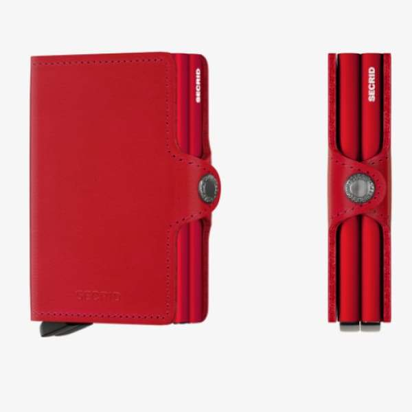 Secrid Twinwallet Original Red-Red - Boutique Marie Dumas