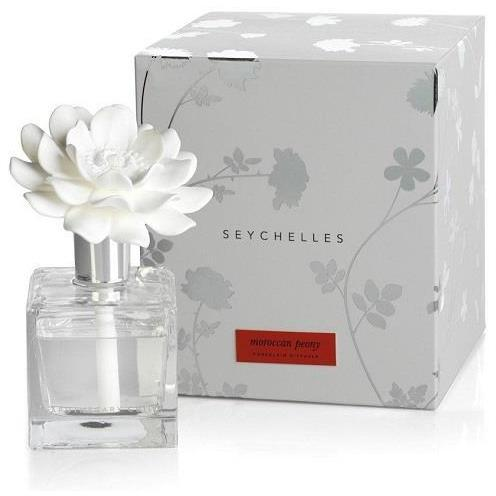 Seychelles Porcelain Diffuser - Moroccan Peony - Boutique Marie Dumas