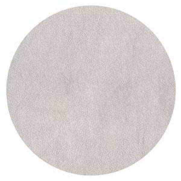 Silver Round Faux Leather Felt Back Placemat - Boutique Marie Dumas