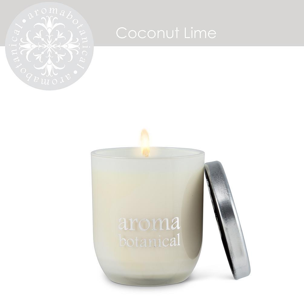 Small Coconut Lime Candle - Boutique Marie Dumas