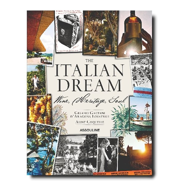 The Italian Dream Coffee Table Book - Boutique Marie Dumas
