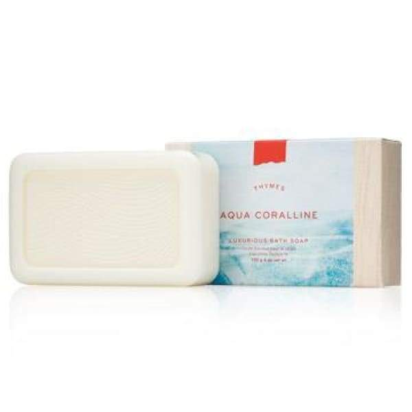 Thymes Aqua Coralline - Bar Soap - Boutique Marie Dumas