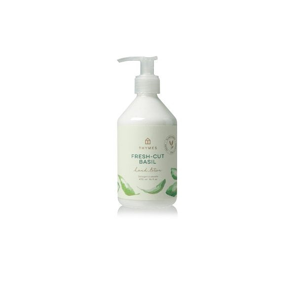 Thymes Fresh Cut Basil - Hand Lotion - Boutique Marie Dumas