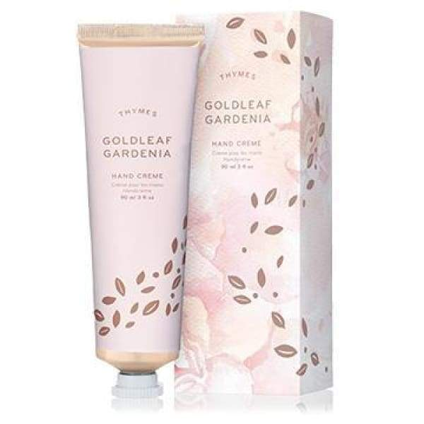 Thymes Goldleaf Gardenia - Hand Cream - Boutique Marie Dumas