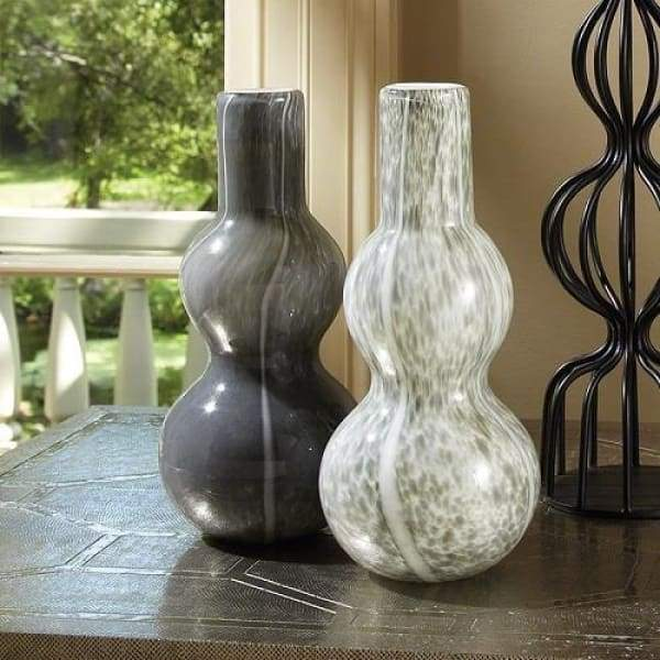 Two Bubble Vase - Light Grey - Boutique Marie Dumas