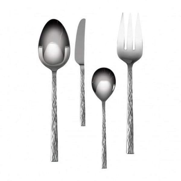 Vera Wang 4 Piece Hostess Set - Hammered - Boutique Marie Dumas