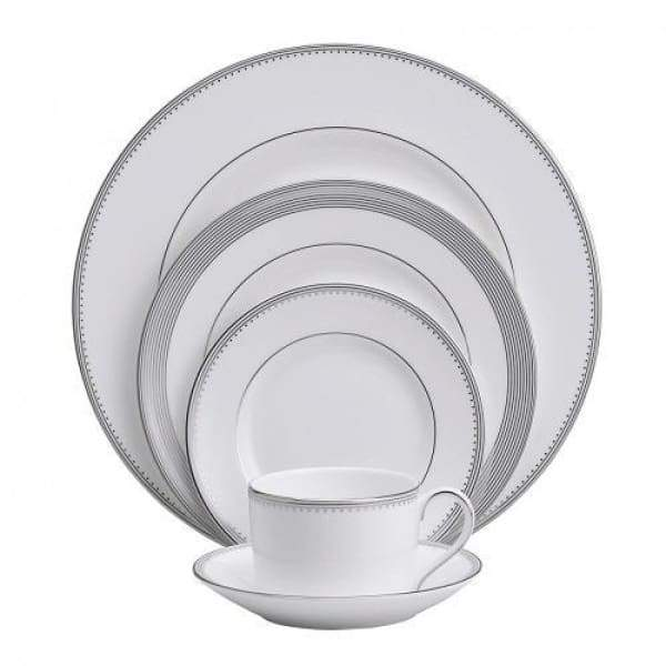 Vera Wang Grosgrain 5-Piece Place Setting - Boutique Marie Dumas