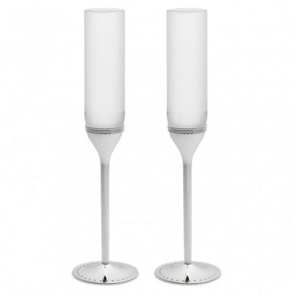 Vera Wang Grosgrain Flutes Set of 2