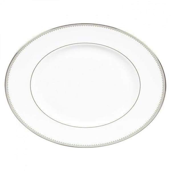 Vera Wang Grosgrain Large Oval Platter - Boutique Marie Dumas