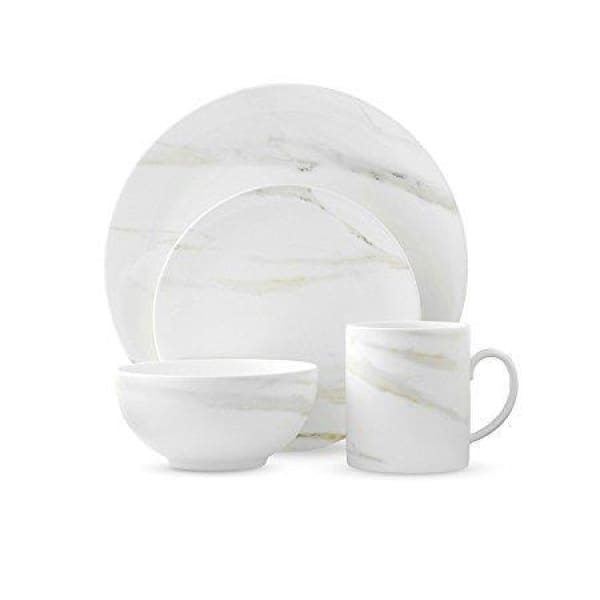 Vera Wang Venato Imperial 4-Piece Place Setting - Boutique Marie Dumas