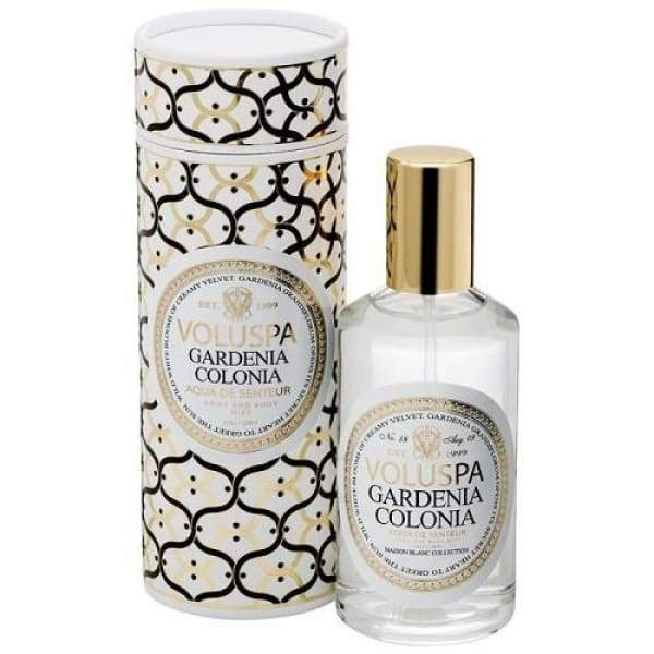 Voluspa Room & Body Spray - Gardenia Colonia - Boutique Marie Dumas