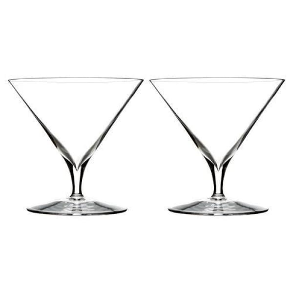 Waterford Elegance Martini Glass, S/2 - Boutique Marie Dumas