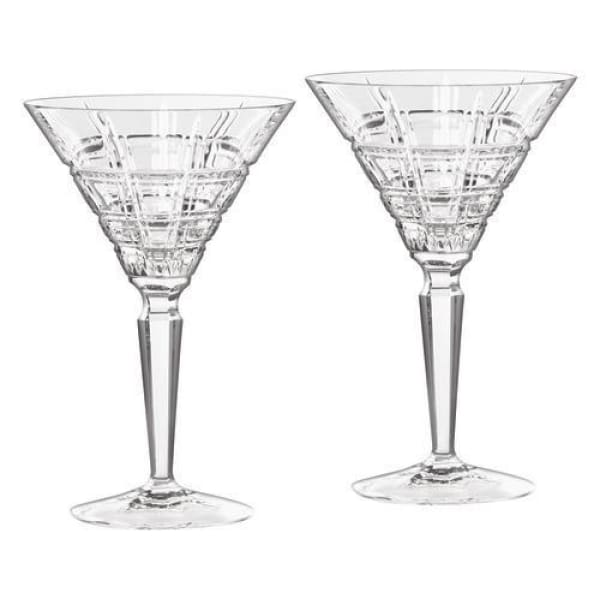 Waterford Marquis Crosby Martini, Pair - Boutique Marie Dumas