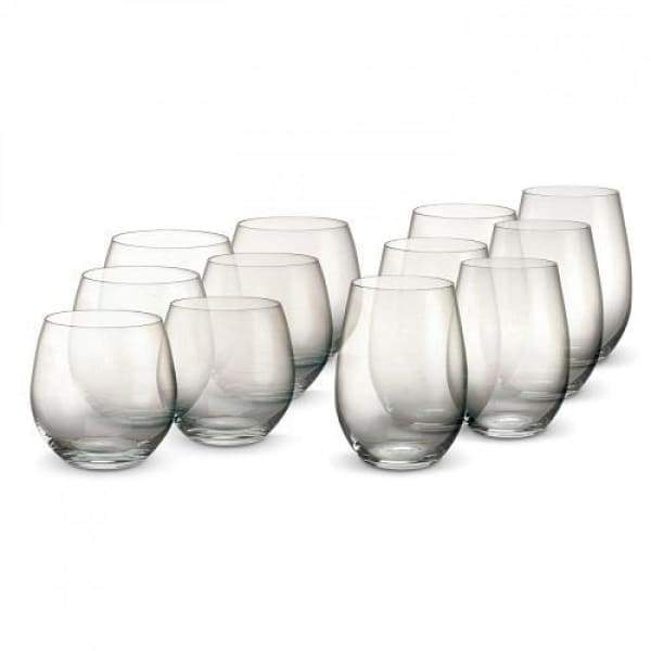 Waterford Marquis Stemless Wine Glasses Set of 12 - Boutique Marie Dumas