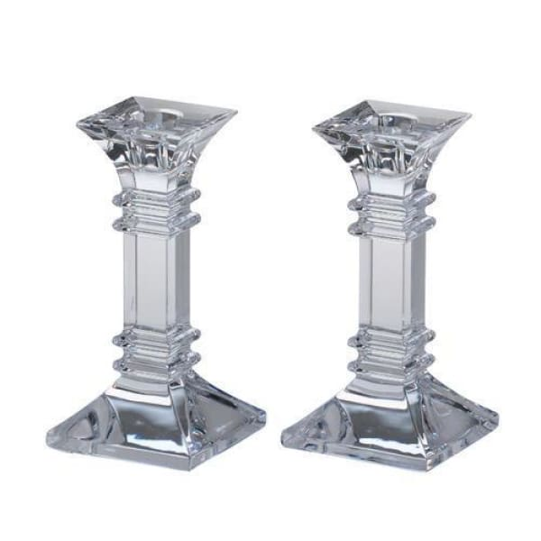 "Waterford Marquis Treviso 6"" Candlestick, Pair - Boutique Marie Dumas"
